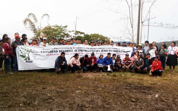 SE INTENSIFICA PREPARATIVOS DE LA CAMPAÑA CERO DEFORESTACION EN LA PARTE ORGANIZATIVA EN REGIONES AMAZÓNICAS